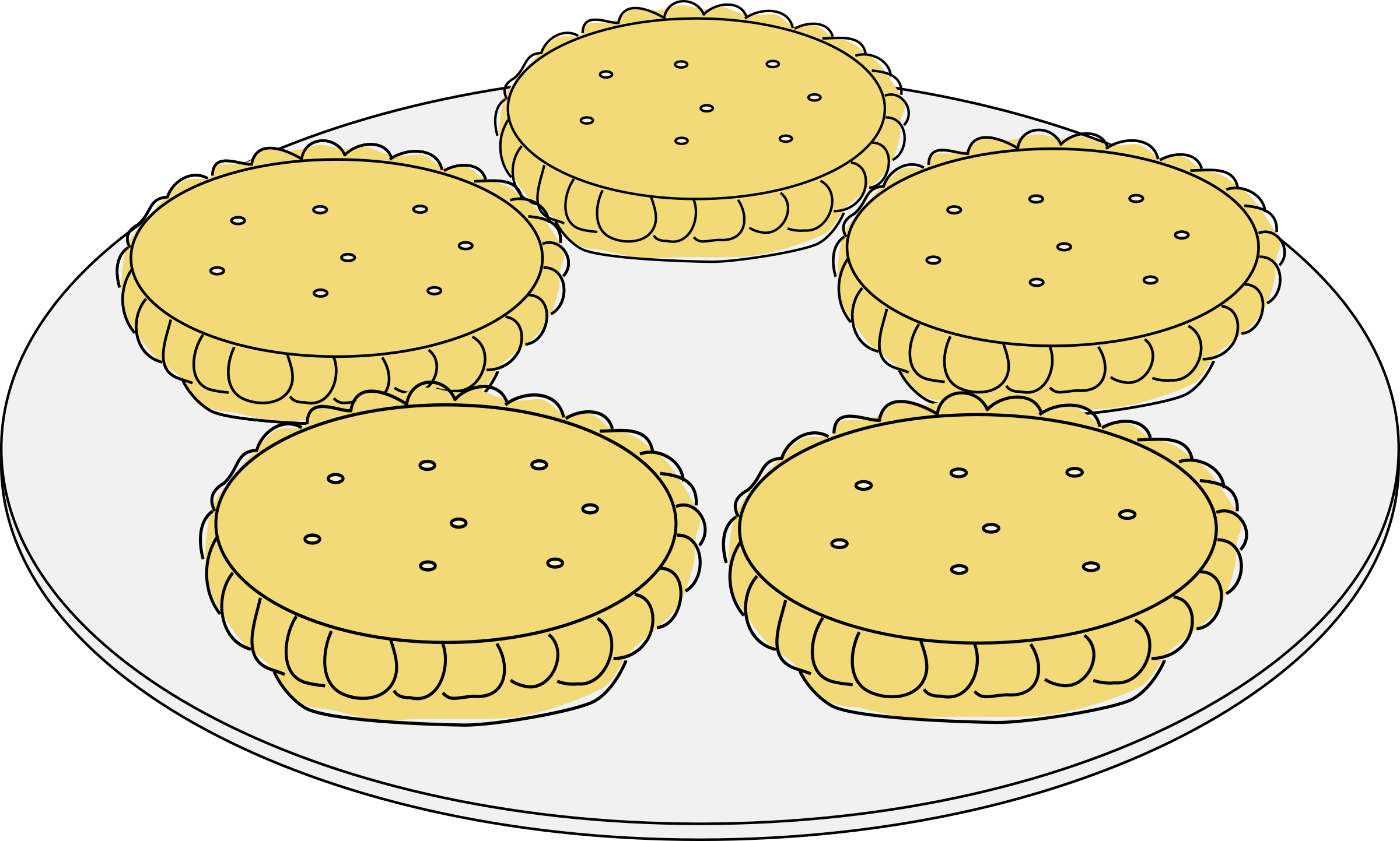 2400x1443 Apple Pie Slices Jpg Black And White Library Free