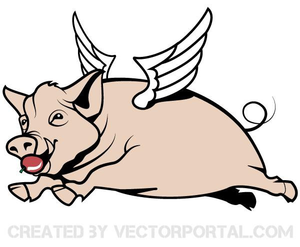 Pig Vector Art
