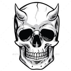 Pile Of Skulls Vector
