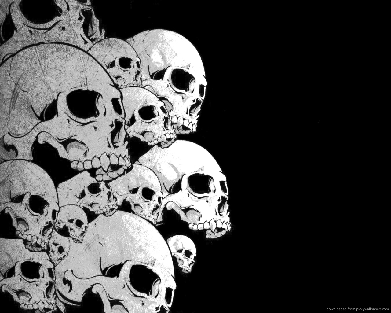 1280x1024 Pile Of Skulls Drawing A Pile Of Skulls The Muslim Issue