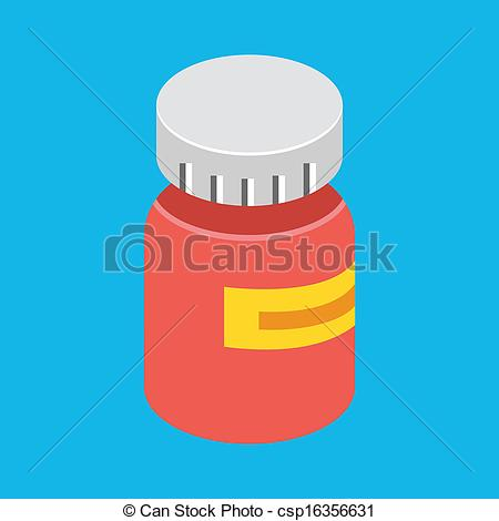 450x470 Vector Medical Pill Bottle Icon Vectors