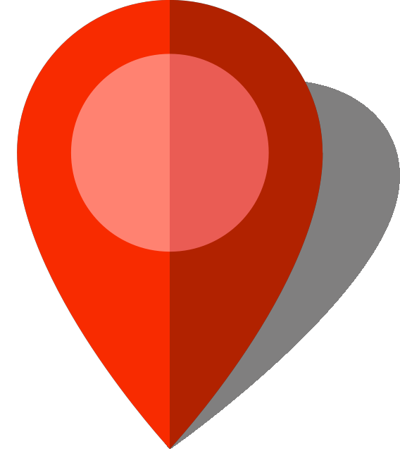 568x640 Simple Location Map Pin Icon10 Red Free Vector Data Svg(Vector