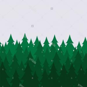 300x300 Vector Landscape Fir Trees Vector Landscape Fir Trees Grass