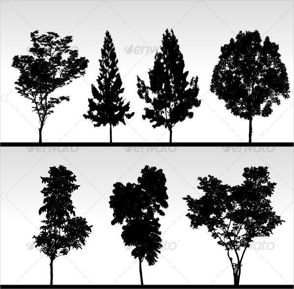 Pine Tree Vector Free
