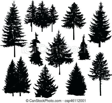450x414 Pine Tree Vector Pine Tree Vector Free Download