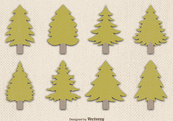 352x247 Polygonal Pine Vector Trees Free Vector Download 330153 Cannypic