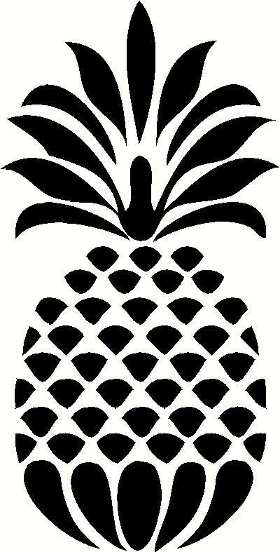 Vectormenez Clipart Clipart Pineapple Outline