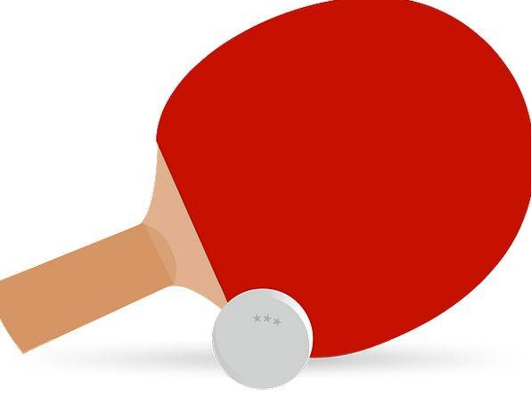 596x445 Ping Pong, Paddle, Oar, Table Tennis, Bat, Racket, Ball, Sport