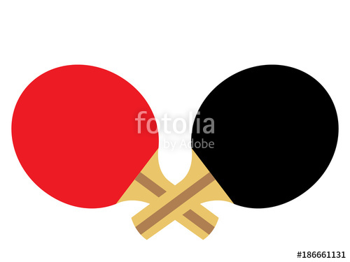 500x375 Ping Pong Paddles Stock Image And Royalty Free Vector Files On