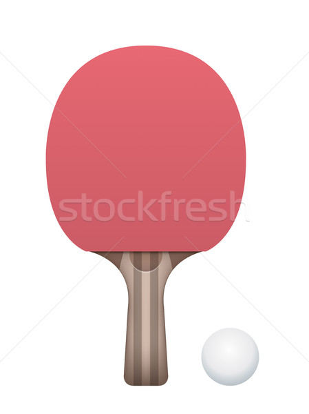 449x600 Vector Ping Pong Paddle Stock Photos, Stock Images And Vectors