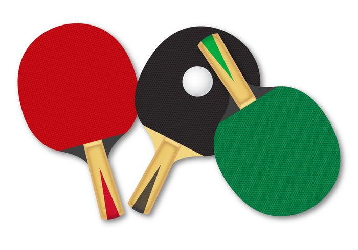700x490 Free Rackets For Table Tennis Vector