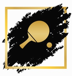 238x250 Gold Ping Pong Paddle Fresh Paddle Amp Silhouette Vector Over 790