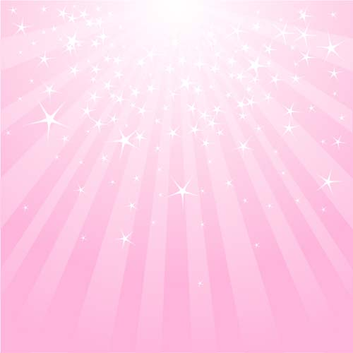 500x500 Light With Stars And Pink Background Vector