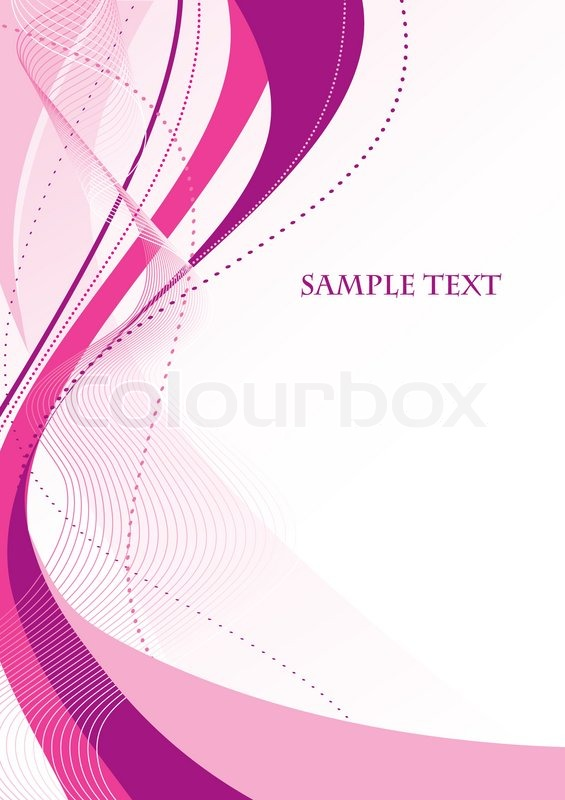 565x800 Abstract Pink Background. Vector Stock Vector Colourbox