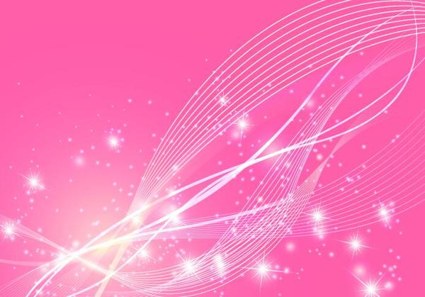 600x419 Abstract Wavy Lines With Pink Vector Background Free Download