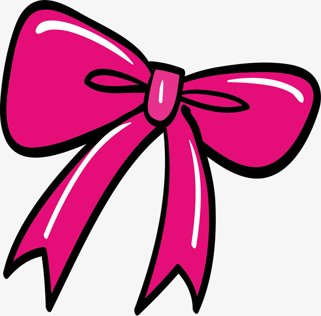 650x641 Pink Bow Vector, Bow, Decoration, Hand Painted Png And Vector For