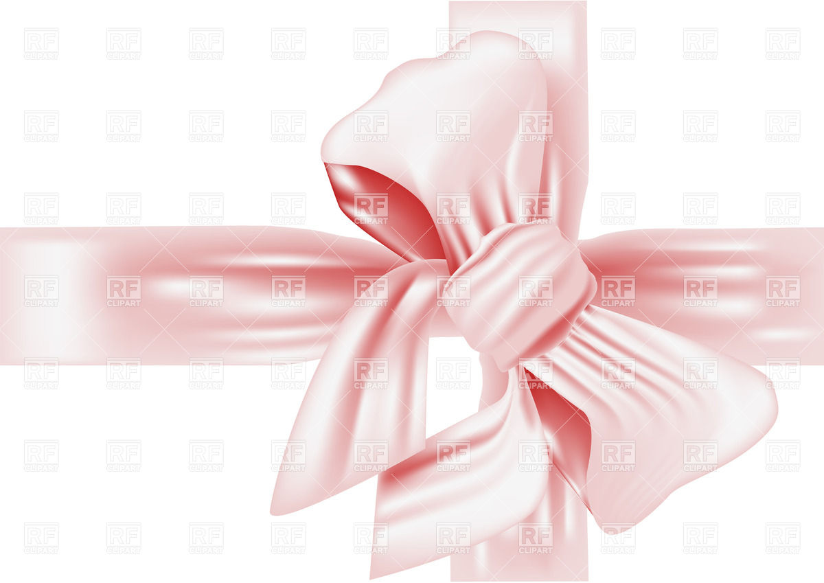 1200x849 Pink Bow Vector Image Vector Artwork Of Design Elements Arkela