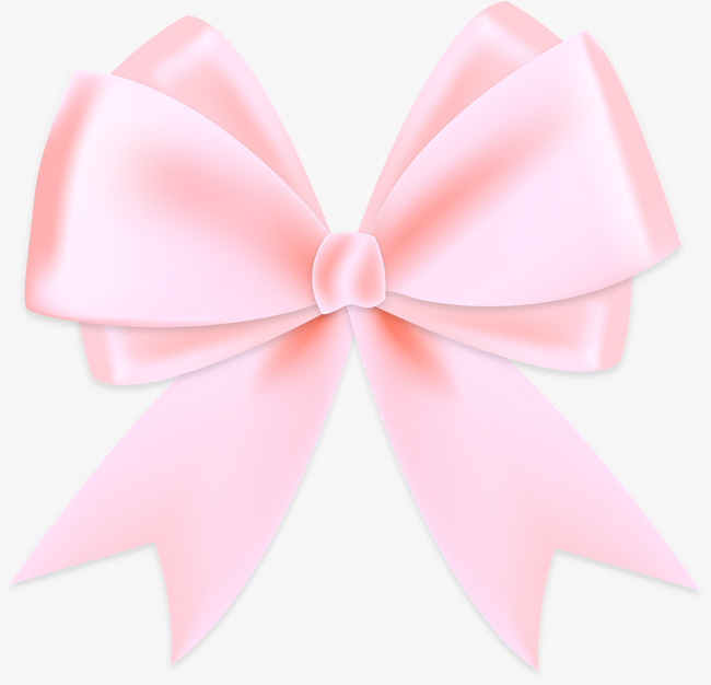 650x626 Vector Hand Painted Pink Bow, Hand Vector, Bow Vector, Vector Png