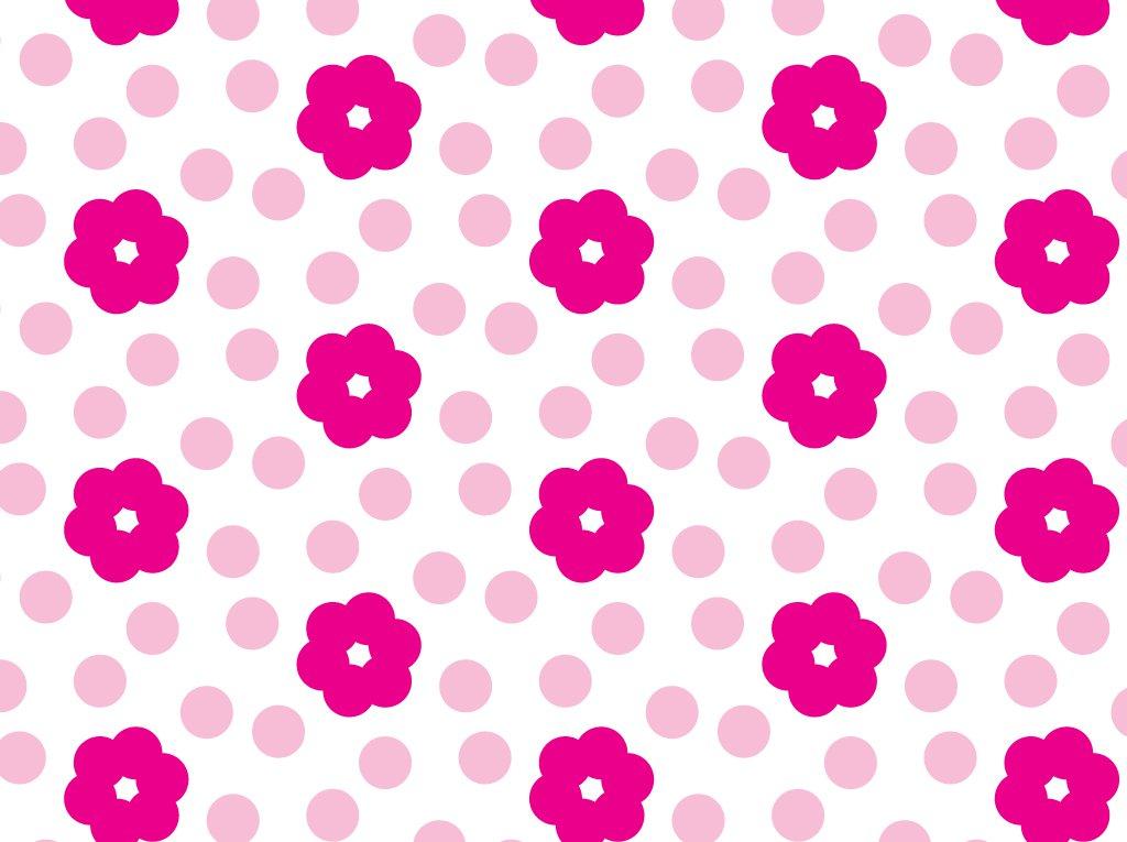 1024x765 Pink Flower Pattern Vector Art Amp Graphics