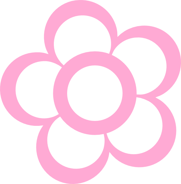 Pink Flower Vector Png