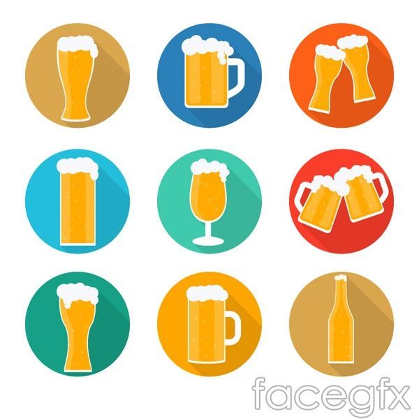 600x600 Delicious Beer Icon Vector Vector Icon Icons And