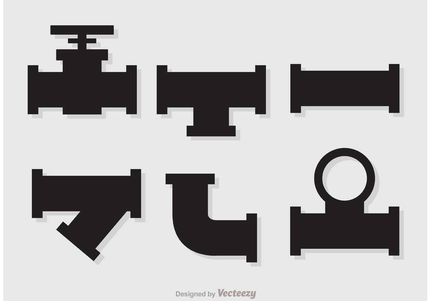 1400x980 Silhouette Sewer Pipeline Vectors