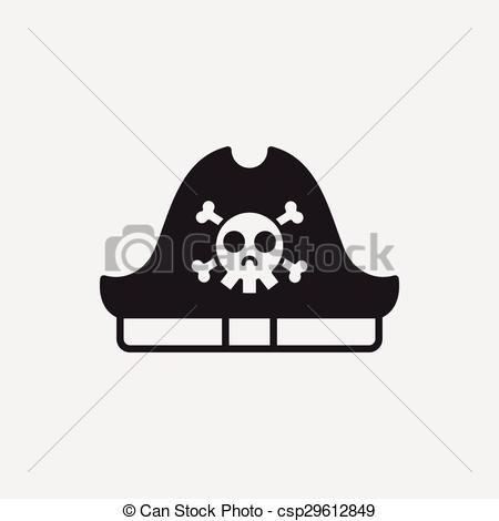 450x470 Pirate Hat Icon Eps Vector