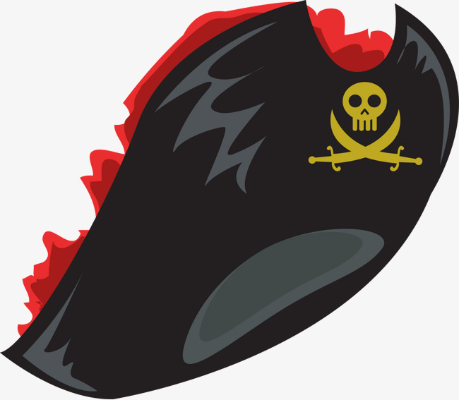 650x567 Vector Painted Pirate Hat, Pirate Vector, Hat Vector, Vector Png