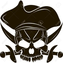 260x259 Download Pirates Hat Vector Clipart Pirate Royalty Free