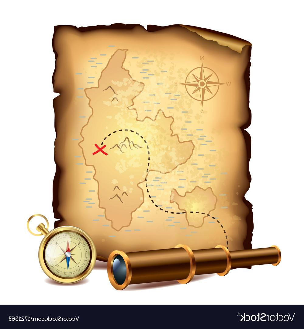 1000x1080 Top 10 Pirate Treasure Map Vector Cdr