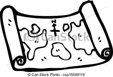 450x306 Cartoon Treasure Map.