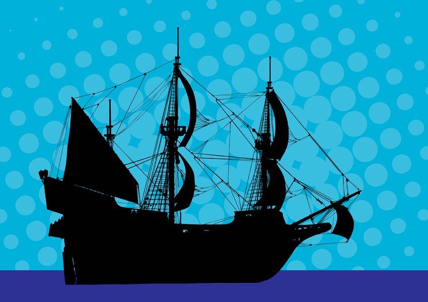 850x600 Pirate Ship Vector Art Amp Graphics
