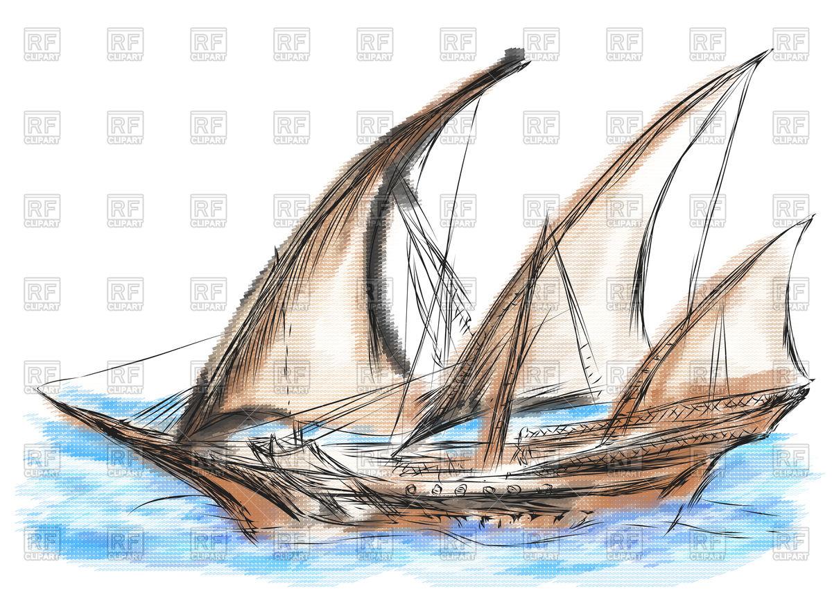 1200x849 Pirate Ship Vector Image Vector Artwork Of Transportation