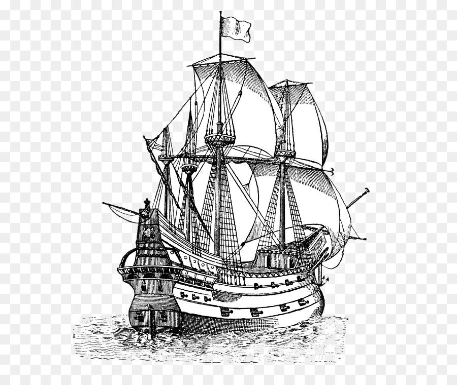 900x760 Clip Art Sailing Ship Vector Graphics A Pirate Ship