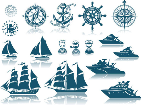491x368 Pirate Ship Silhouette Free Vector Download (6,091 Free Vector