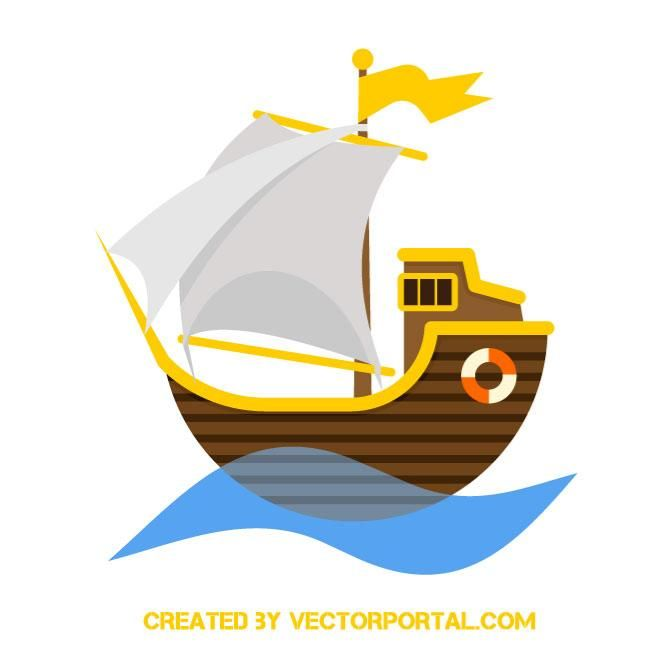 660x660 Pirate Ship Vector Icon Various Vectors Pirate