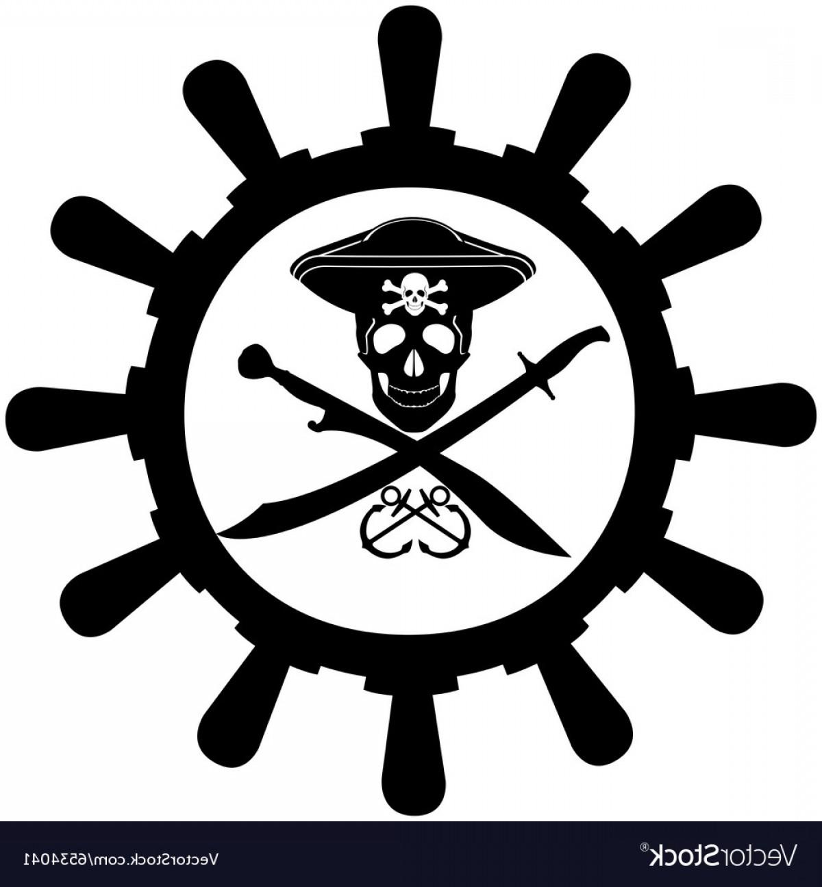 1200x1296 Steering Wheel Of A Pirate Ship Vector Lazttweet