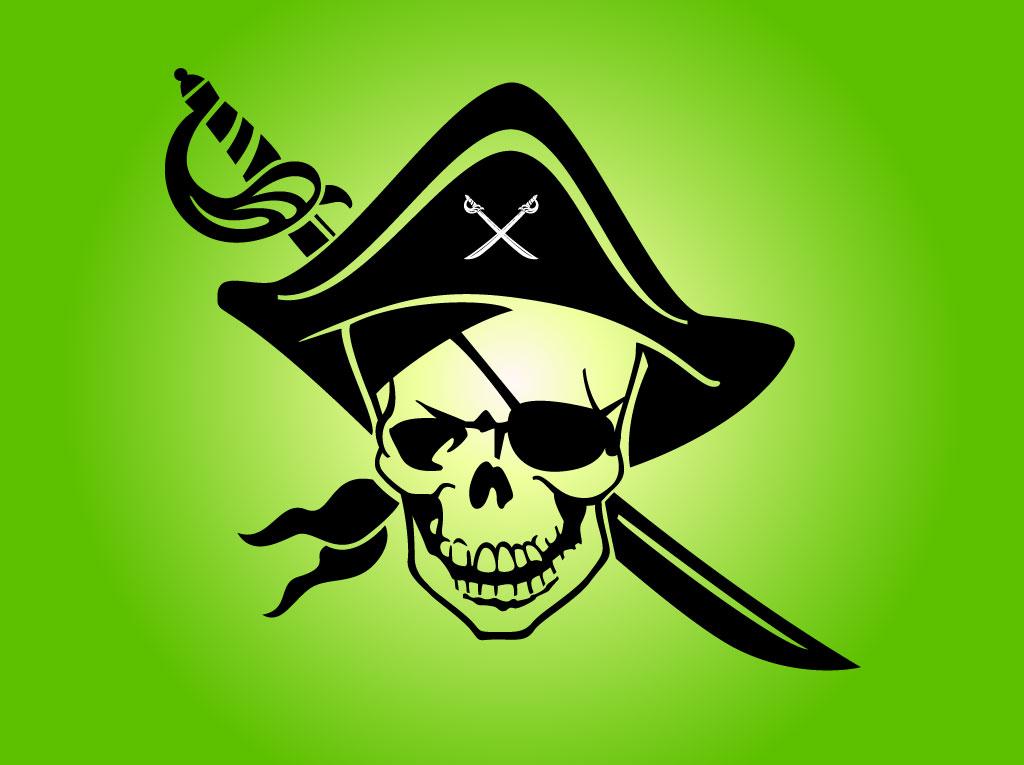 1024x765 Pirate Skull Emblem Vector Art Amp Graphics
