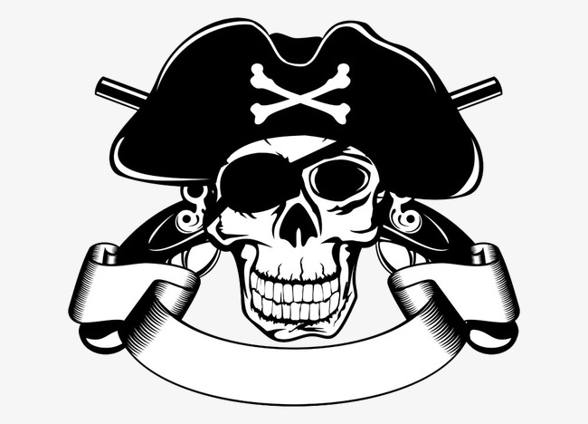650x468 Pirate Skull Vector, Pirate Vector, Skull Vector Png And Vector