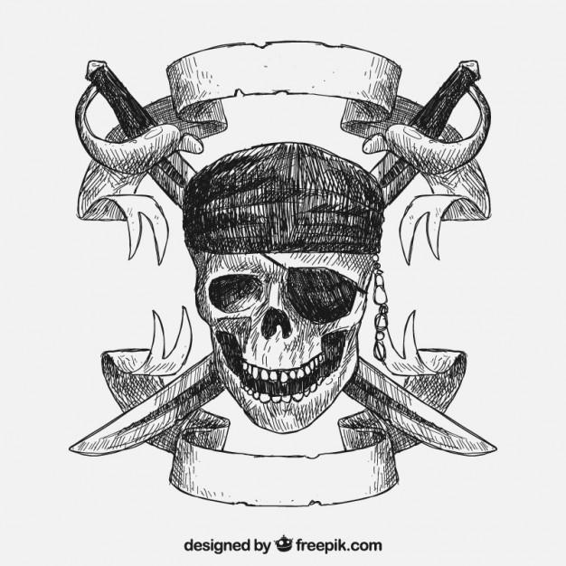 626x626 Pirate Skull Vectors, Photos And Psd Files Free Download