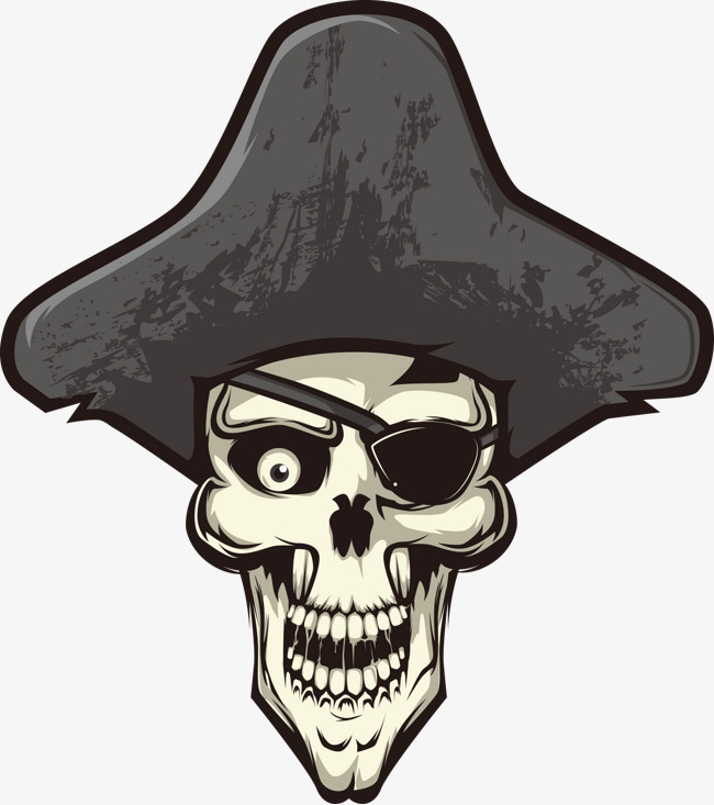 650x733 Vector Pirate Skull, Pirate Vector, Skull Vector, Pirate Skull Png