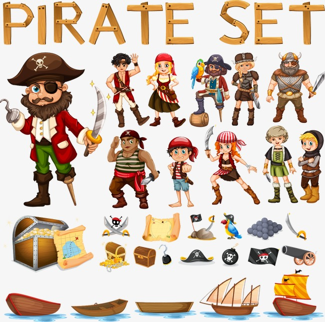 650x645 Vector Pirate, Pirate, Vector, Captain Png And Vector For Free