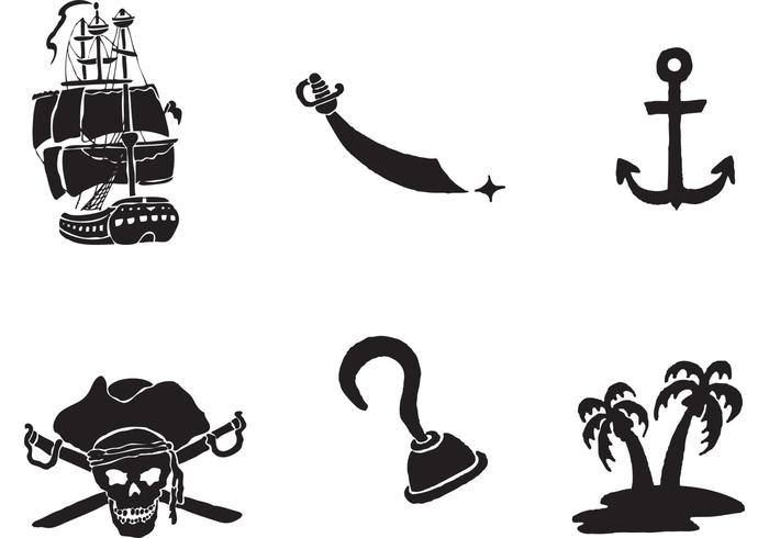 700x490 Free Pirate Ship Vector