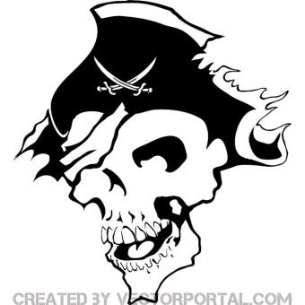 Pirate Vector Art