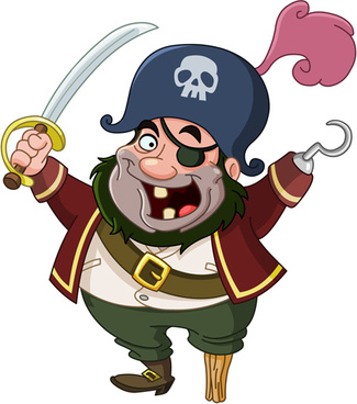 325x368 Vector Caribbean Pirate Free Vector Download (211 Free Vector) For