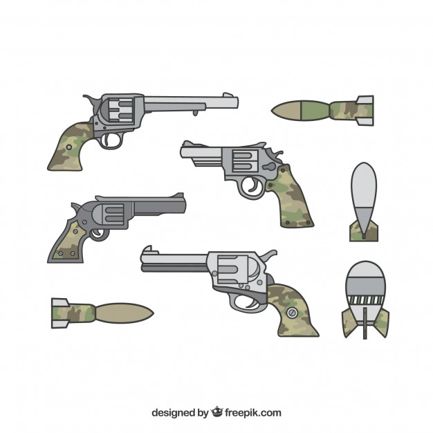 Pistol Vector at GetDrawings com | Free for personal use