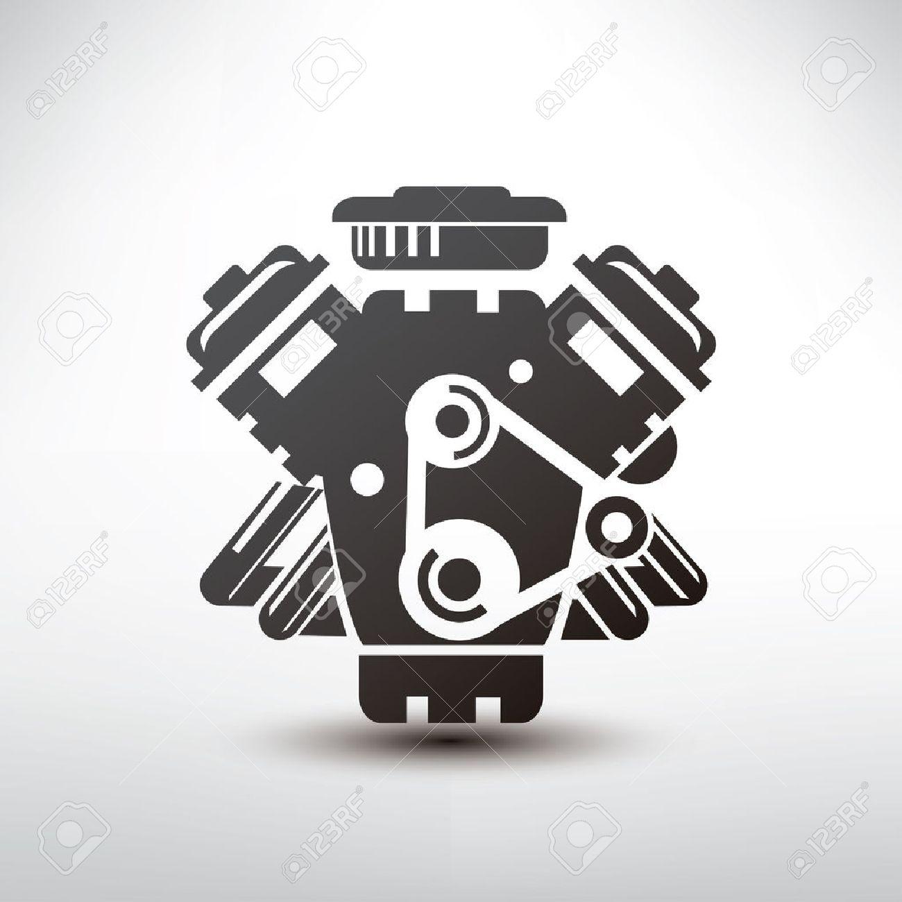 1300x1300 Free Engine Icon Vector 353222 Download Engine Icon Vector