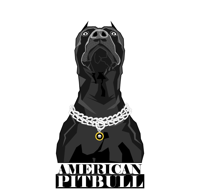 Pit Bull Vector At Getdrawingscom Free For Personal Use Pit Bull