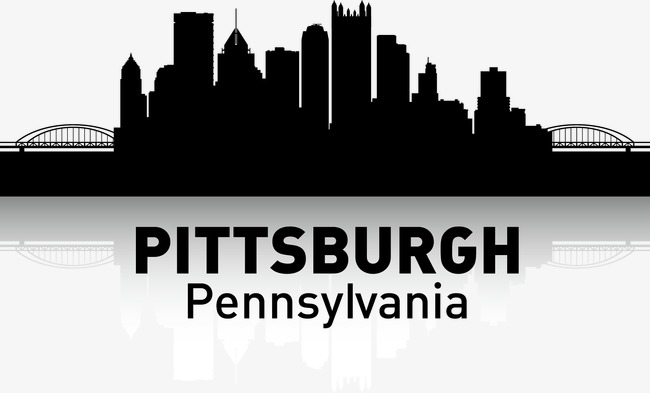 650x393 Pittsburgh, City Silhouette, City, City Png And Vector For Free