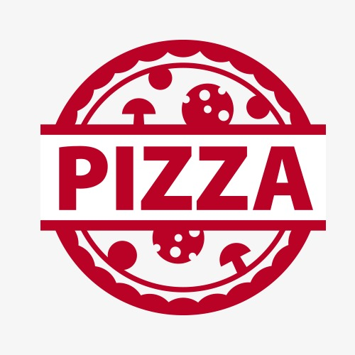 500x500 Original Pizza Logo Logo Vector, Logo Clipart, Pizza, Logo Logo